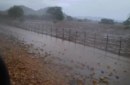 Iguaracy foi o município onde mais choveu ate agora no Pajeú
