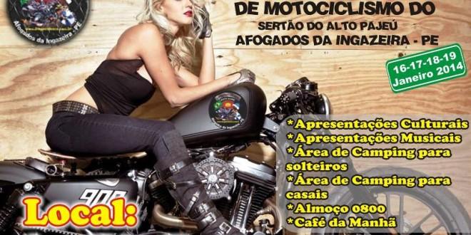 Encontro de motociclistas começa hoje em Afogados