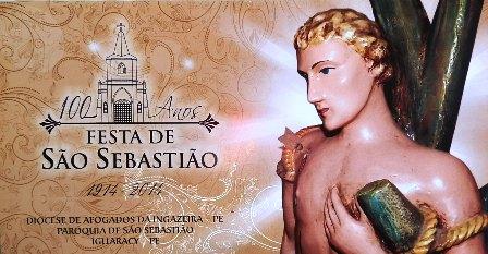 Iguaraci: centenário da festa de São Sebastião encerra-se hoje