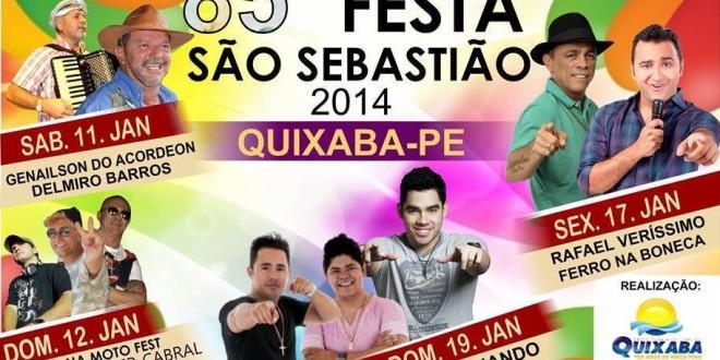 2ª feira de festa em Quixaba