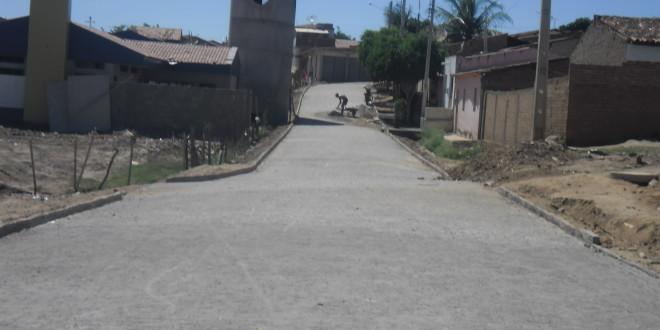 Em Afogados, prefeitura vai inaugurar duas ruas pavimentadas neste sábado