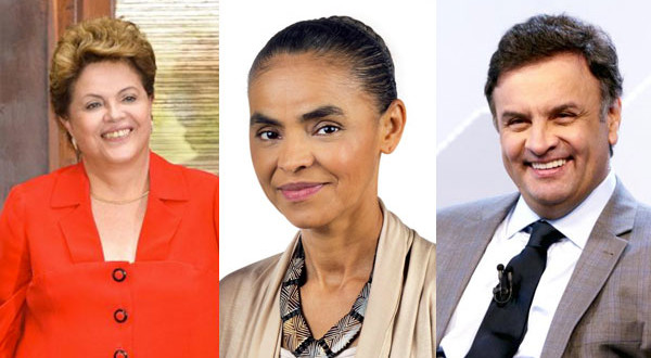 Dilma tem 36%, Marina, 30%, e Aécio, 19%, aponta pesquisa Ibope