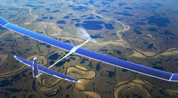 Facebook iniciou testes com drone solar para prover internet gratuita