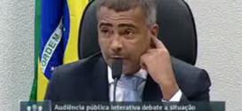 Romário comemora prisão de Marin e protocola pedido de CPI da CBF