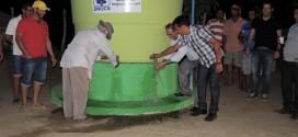 Em Tabira, Sebastião Dias entrega mais um Poço Artesiano