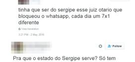 Xenofobia toma conta do Twitter após suspensão do WhatsApp por juiz de SE