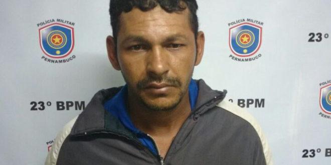 Suspeito de estupro na zona rural de Afogados é preso em Tabira
