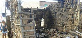 Afogados: Incêndio em casa de taipa traz a tona fragilidade social