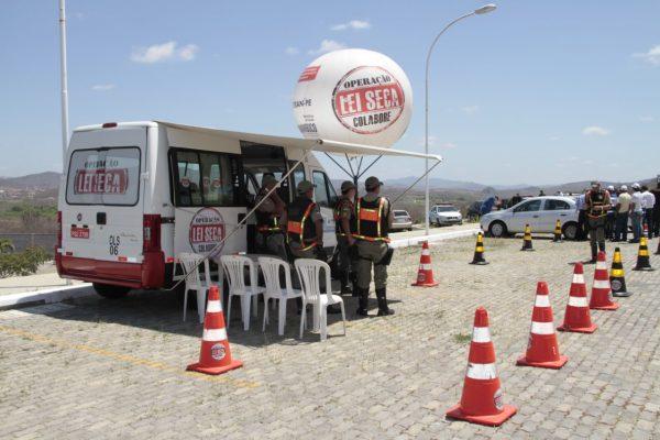 Operação Lei Seca completa cinco anos e inaugura base em Serra Talhada