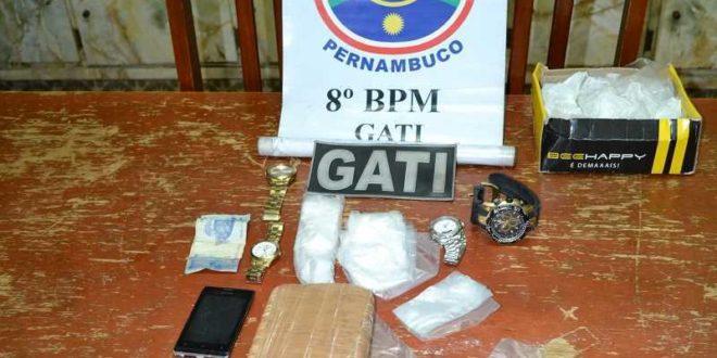 Cantor é preso por tráfico de drogas em Salgueiro