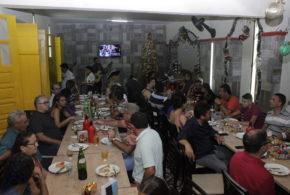 Rádio Pajeú faz confraternização com colaboradores, voluntários e parceiros