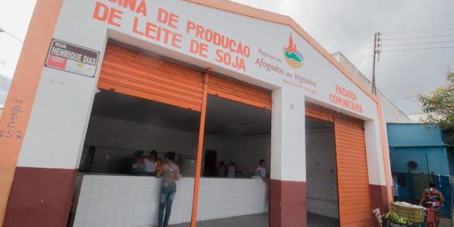 """Afogados: beneficiários da """"Vaca Mecânica"""" e Padaria Comunitária serão recadastrados"""