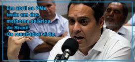 """Paulo Câmara em debate: """"apesar da crise, Pernambuco está de pé"""""""